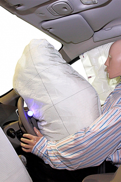 Automotive Skibag, airbag
